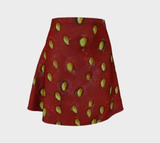 Strawberry Skin Flare Skirt aperçu