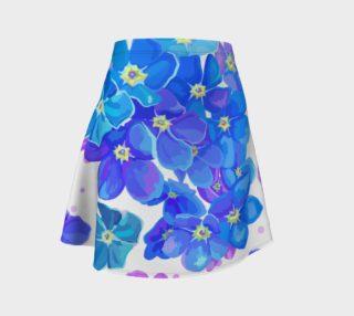 Aperçu de Shabby Chic - Blue and Purple Floral