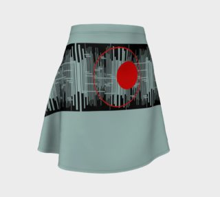 Space age Flare Skirt preview