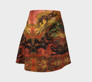 Thunderstorm flare skirt preview