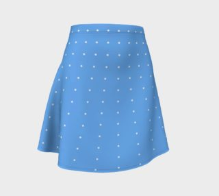Umsted Design Baby Blue with White Small Polka Dots preview