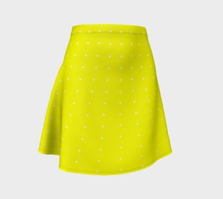Umsted Design Yellow with White Small Polka Dots preview