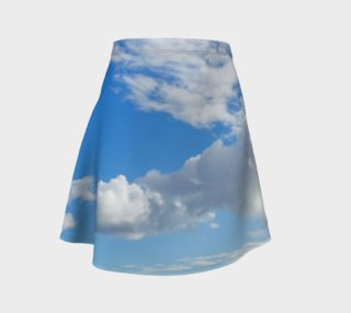 Aperçu de Blue Sky and Clouds Skirt