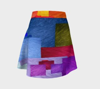 Aperçu de Abstract 1931 Flare Skirt