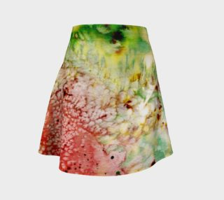 Watermelon Spin - Flare Skirt preview