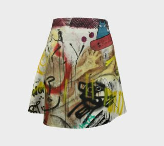 Aperçu de Fun Graffiti Skirt