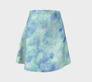 Blue lagoon Flare Skirt aperçu