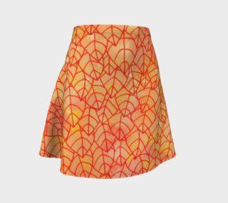 Autumn foliage Flare Skirt aperçu