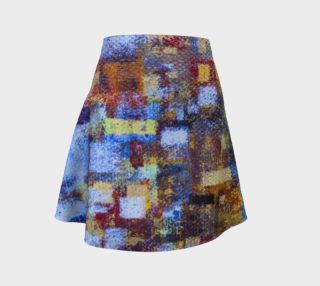 Bold Abstract Mosaic with Blue Skirt preview