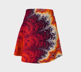 Lightning Bolt Flare Skirt preview