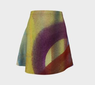 Tropical Watercolor 2 Skirt preview