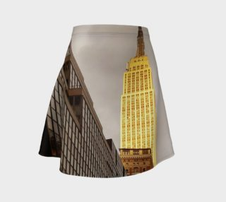 Empire State Building Flare Skirt preview