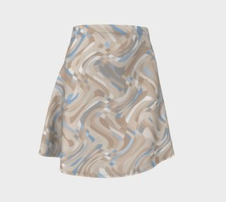 Beige and Blue Swirls preview