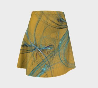 Fractal Skirt in Yellow preview