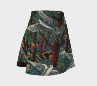 Forest Journey flare skirt preview