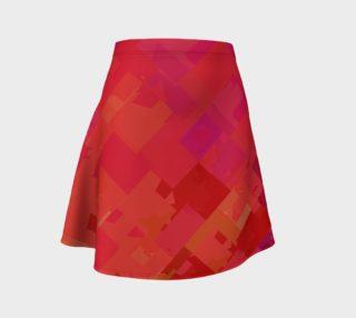 Purple & Orange Flare Skirt preview