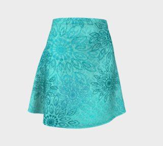 Umsted Design Boho Gypsy Flower Flare Skirt preview