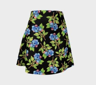 Blueberry Sprig Flare Skirt preview