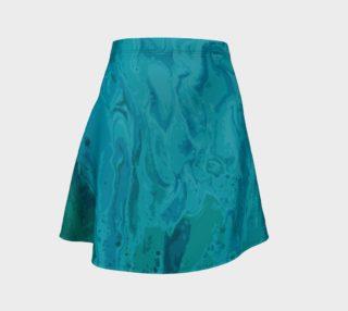 Aperçu de Teal Flare Skirt