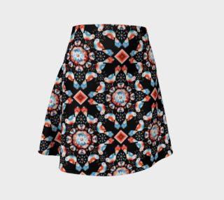 Aperçu de Folkloric Lovebirds Flare Skirt