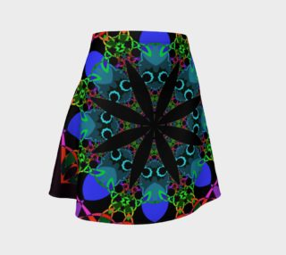 Black Flower Fractal Kaleidoscope preview