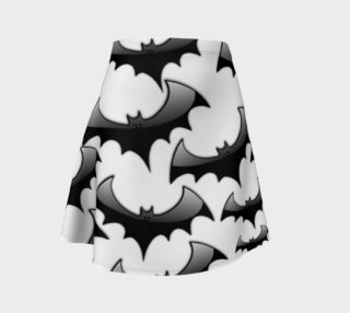 Halloween Bats Flare Skirt - Order until October 9th! preview