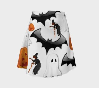 Trick or Treat Flare Skirt - Order until October 9th! preview
