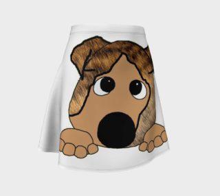 bulldog brindle and fawn peeking preview