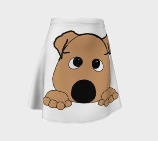 bulldog fawn peeking preview