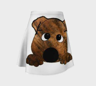 bulldog red brindle peeking preview