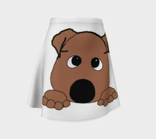 bulldog red peeking preview