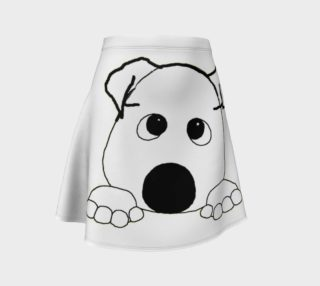 bulldog white peeking preview