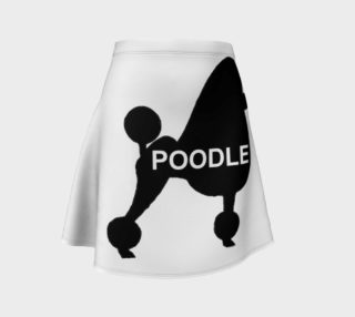 poodle name silhouette preview