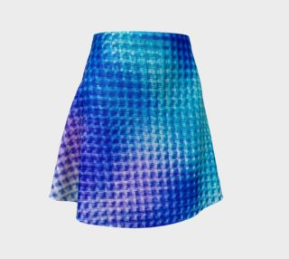 Digital Blur Flare Skirt preview