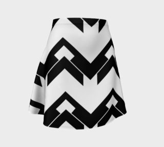 Chevron black and white preview