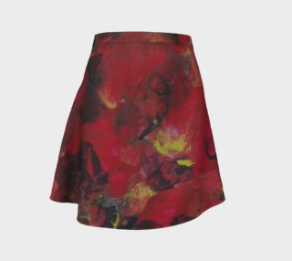 Midnight Blooms Flare Skirt preview