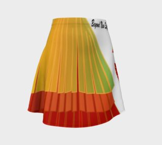 TSX Design House Logo Flare Skirt preview