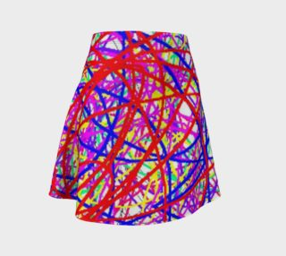 Energy Of Life In Color Flare Skirt preview