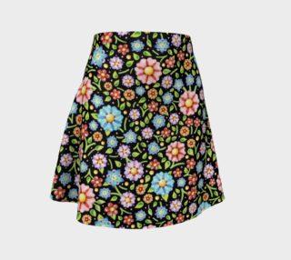 Aperçu de Ditsy Chintz Flare Skirt