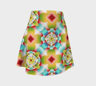 Groovy Cosmic Flare Skirt preview