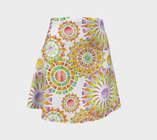 Aperçu de Sorbet Fireworks Flare Skirt