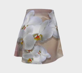 White Orchids on Silk preview