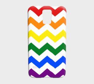 Rainbow Chevron Pattern Design Rainbow Colors Chevron Simple preview