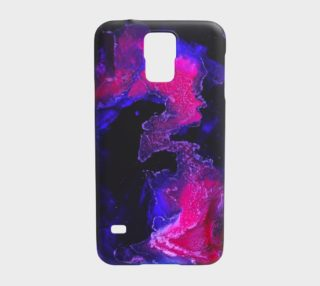 Abstract Pink - Galaxy s5 case preview