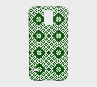 Green Nordic Latvian Folk Design preview