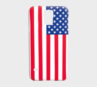 Aperçu de American Flag Samsung Galaxy S5 Case