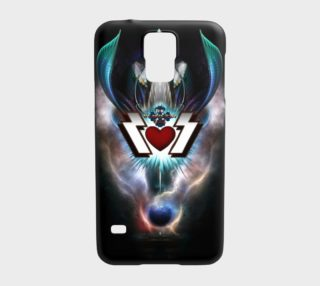 The Thunder Gods Rock Fractal Art Samsung S5 Case preview
