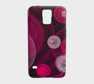 Circles Samsung Galaxy S5 Case preview
