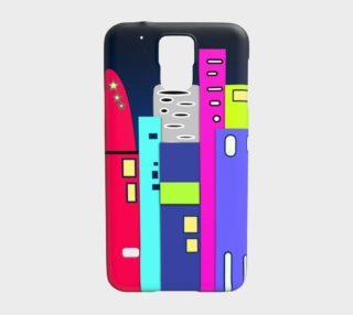 Aperçu de Space City Samsung Galaxy S5 Case