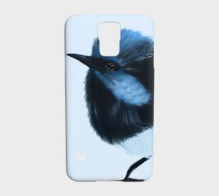 Blue Wren Samsung Galaxy S5 Case preview
